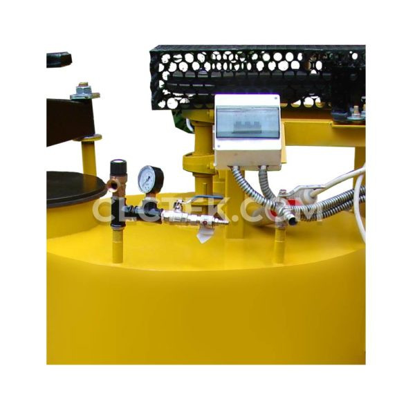 Foam concrete machine BAS200 air system