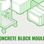 Foam concrete block mould