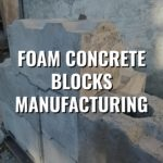 Foam concrete blocks manufacturing