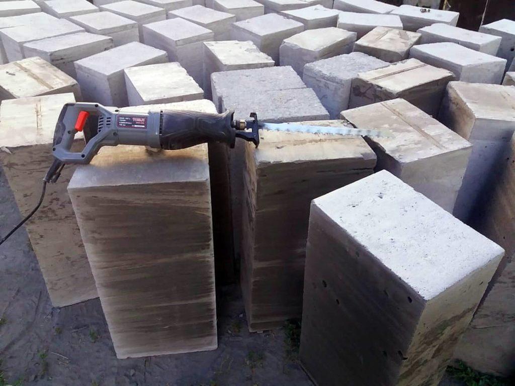 Foam concrete blocks manufacturing is easy
