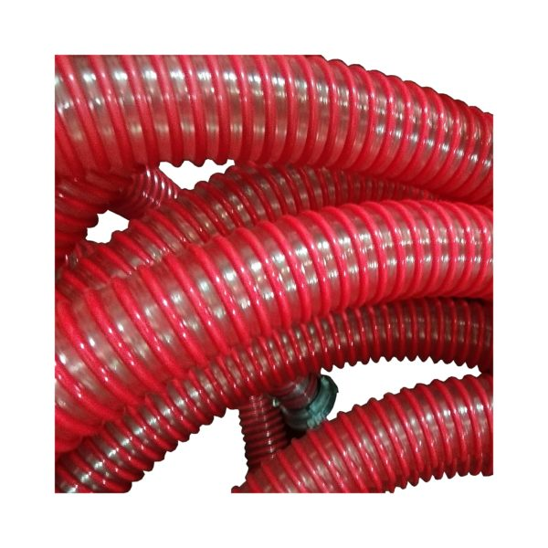 Foamed concrete hose